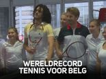 Game, set en match: Belg breekt wereldrecord tennis!