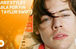 Harry Styles habla por primera vez de Taylor Swift