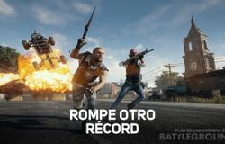 Player Unknown Battlegrounds rompe otro récord