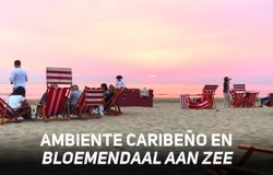 ¿El Caribe? No, una playa artificial en Ámsterdam